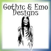 Morbid, Gothic & Emo Designs