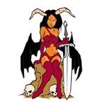 Evil Sexy Goddess