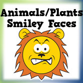 Animals & Plants Smiley Faces