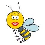 Bumble Bee Smiley Face