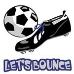 Let's Bounce Soccer Ball Design