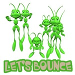 Let's Bounce Grasshoppers