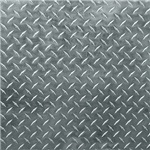 Gray Diamond Plate Pattern