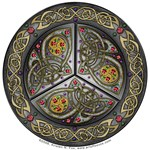 Bejeweled Celtic Shield