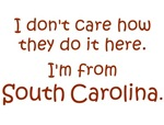 I'm From South Carolina