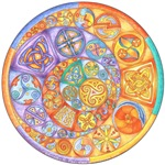 Celtic Crescents Rainbow