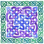 Celtic Watercolor Knotwork