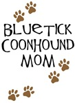 Bluetick Coonhound Mom