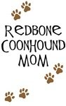 Redbone Coonhound Mom