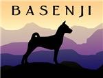 Basenji Purple Mountains