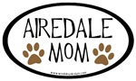 Airedale Mom Oval