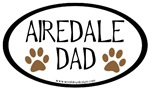 Airedale Dad Oval