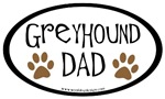 Greyhound Dad Oval