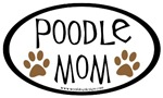 Poodle Mom Oval