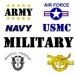 Army, Navy, Marines, Air Force, Veterans T-Shirts