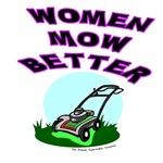 Women Mow Better