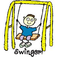 Swinger Swingset Playdate T Shirts Gifts