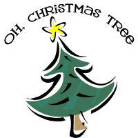 Oh Christmas Tree T-Shirts Gifts Buttons