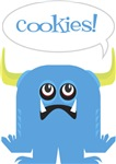 Cool  Blue Cookie Monster T-Shirts Gifts