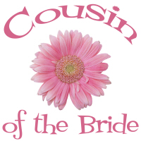 Cousin of the Bride Wedding Apparel Gerber Daisy