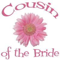 Cousin of the Bride Wedding Apparel Gerber Daisy