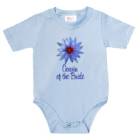 Purple Lotus Wedding Cousin of the Bride T Shirts