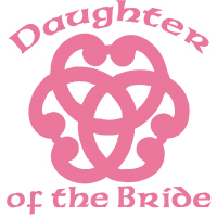 Celtic Daughter of the Bride Wedding Apparel