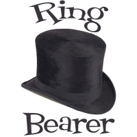 Top Hat Wedding Party Ring Bearer T-Shirts