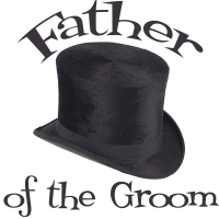 Top Hat Wedding Party Father of the Groom