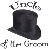 Top Hat Uncle of the Groom T-Shirts Gifts