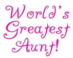 World's Greatest Aunt!