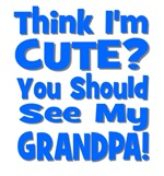 Think I'm Cute? Grandpa Blue