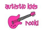Autistic Kids Rock! Pink Guitar