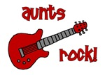 Aunts Rock! Red Guitar