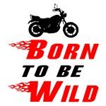Biker Baby Born to Be Wild