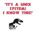 Jurassic Park Unix Quote