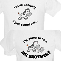 zebra big brother t-shirts