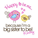 PERSONALIZE IT!!  Happy To Be Me Big Sister Whimsy