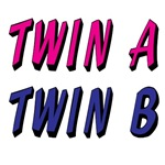 TWIN A & TWIN B Pink Or Blue