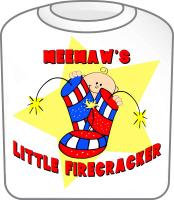 Meemaw Firecracker July 4th
