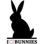 I Love Bunnies T-Shirts & Gifts