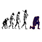 tebowing evolution