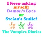 Damon's Eyes or Stefan's Smile