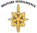 Military Intelligence Branch Insignia, Script