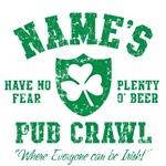 Name's Irish Pub Crawl