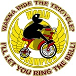 Ride The Tricycle Ring Bell