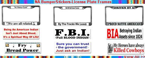 NA BumperSticker-License Plates Frames