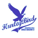 Hurley Bird - Lost tshirts BLUE