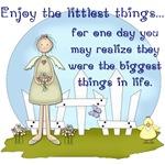 Enjoy the Littlest Things