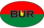 Burkina faso stickers